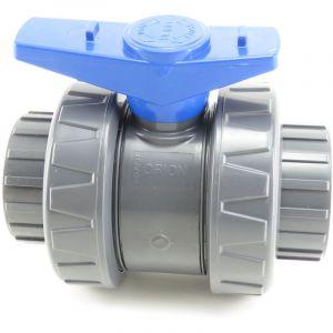 Interplast Ø 50 mm Vanne PVC pour Piscine - Gamme Version 2020-IN-S322050U1