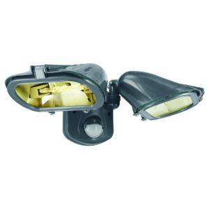 Elro ES128/2T - Double projecteur Eco-Halogène avec détecteur de mouvement 2 x 120 W