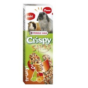 "Versele Laga Crispy sticks ""Fruits"" - 2 x 55g"