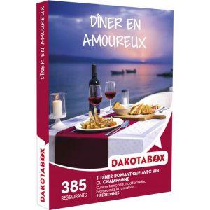 Dakota Box Dîner en amoureux - Coffret cadeau 385 restaurants