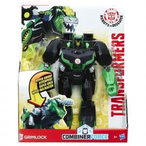 Hasbro Figurine 3 Steps Changer Transformers Robots in Disguise Grimlock
