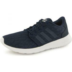Adidas Neo Cloudfoam Qt Racer bleu, baskets mode femme