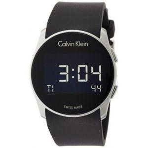 Calvin Klein K5B23TD1 - Montre mixte avec bracelet en silicone