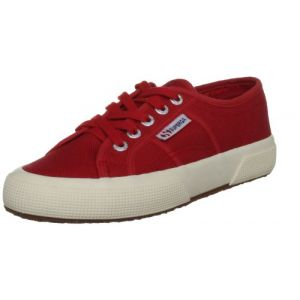 Superga 2750 Jcot Classic, Sneakers basses mixte enfant, Rouge (975 Red), 30 EU