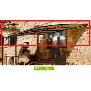 Le King Store Toile pour tonnelle et pergola 4x3 murale