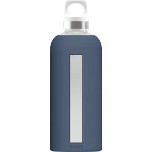 Sigg 8649.30 gourde 500 ml Utilisation quotidienne Bleu Verre, Bouteille d'eau