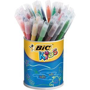Bic Pot de 36 feutres Kids pointe moyenne