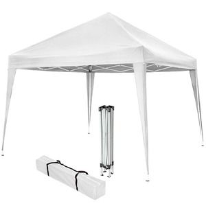 TecTake Barnum pliable blanc 3 m x 3 m