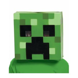 Masque Creeper Minecraft enfants