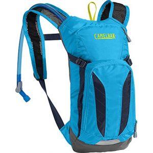 Camelbak Mini Mule Sacs D'Hydratation Mixte Enfant, Atomic Blue/Navy Blazer, 3