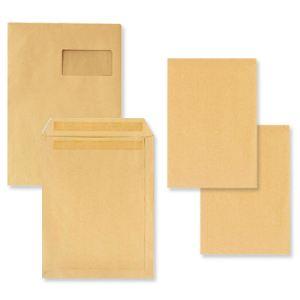 5* office 500 pochettes kraft 17,6 x 25 cm (90 g)