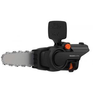 Black & Decker BCASCS61B-QW Tête Tronçonneuse sans Fil Outil Multifonctions, 18 V, Noir