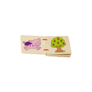 Goki Livre d'images en bois 5