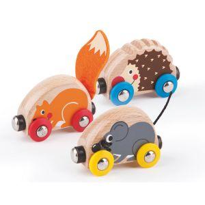 Hape Train en bois des animaux