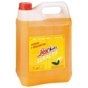 Jex Bidon de 5 litres nettoyant suractif parfum citron