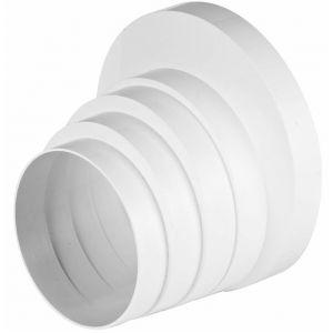 Awenta Réducteur de descente de ventilation de tuyau d'aération ronde 150/125/120/110 / 100mm