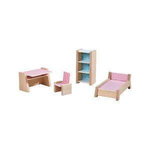 Haba Little friends – meubles pour maison de poupée chambre d'ado