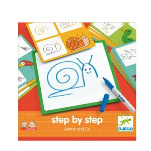 Djeco Step by step : Animals and Co