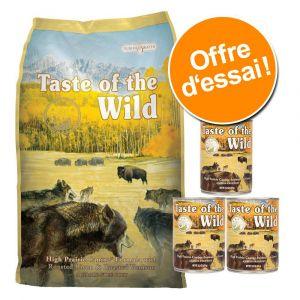 Taste of the wild Sierra Mountain Contenance - Croquettes chien 6 kg