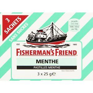 Fisherman's friend Menthe 3 Sachets de 25 g