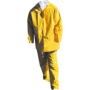 Euro Protection Ensemble de pluie pvc jaune taille l : 50211