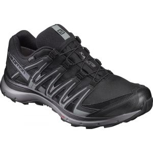 Salomon Homme XA Lite GTX Chaussures de Course à Pied et Trail Running, Black/Quiet Shade/Monument, 44 2/3 EU