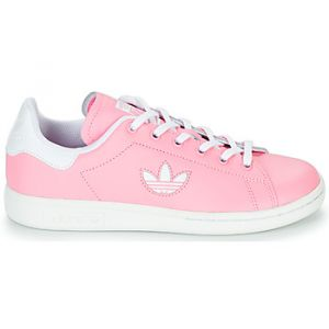 Adidas Chaussures enfant STAN SMITH J rose - Taille 36,38,36 2/3,37 1/3,38 2/3,35 1/2