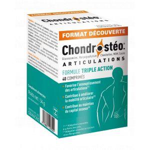 Laboratoire des Granions Chondrostéo+ 40 comprimés