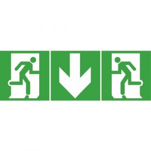 Legrand Etiquette de signalisation adhésive latérale Sortie