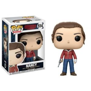 Funko Figurine Pop! Nancy avec Pistolet Stranger Things