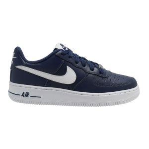 Nike Chaussure Air Force 1 pour Enfant plus âgé - Bleu - Taille 36 - Unisex