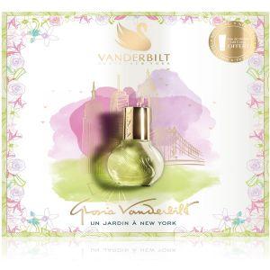 Gloria Vanderbilt Jardin à New-York - Coffret eau de parfum et lait parfumé pour le corps