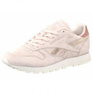 Reebok Classic Leather Shimmer - Baskets - Rose (Pale Pinkmatte Silverchalk), 37 EU