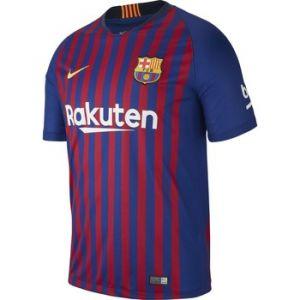 Nike Maillot de football 2018/19 FC Barcelona Stadium Home pour Homme - Bleu - Taille XL
