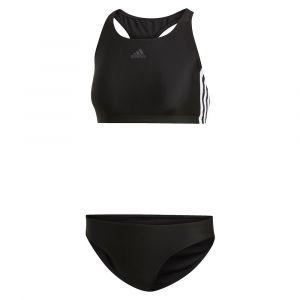 Adidas Women´s Performance Fit 2-Piece 3S - Bikini taille 34, noir