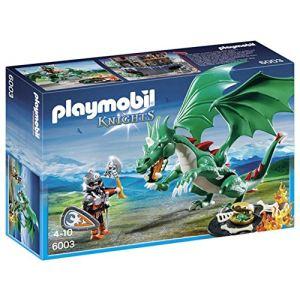 Playmobil 5358 Knights - Combattant de tournoi Clan du Dragon