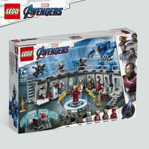 Lego La salle des armures d'Iron Man Marvel Super Heroes 76125