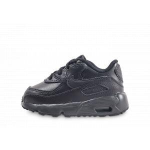 official photos 677dc f0672 Nike Chaussure Air Max 90 Leather pour Bébé Petit enfant - Noir - Taille 25