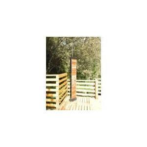 Zodiac Douche solaire Wood Design 35 L avec rince pieds et 3 brumisateurs