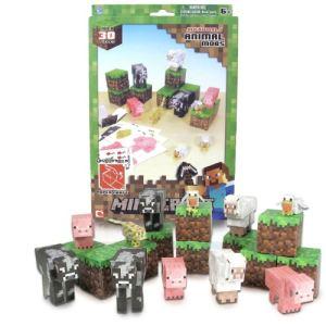 Jazwares Minecraft Papercraft  : Créatures animales