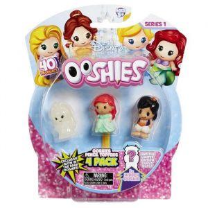 Vivid Disney Princesses Ooshies Pack de 4 - Mix 4