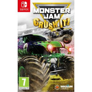 Monster Jam Crush It sur Switch