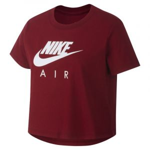 Nike Haut court Air pour Fille plus âgée - Rouge - Taille XL - Female