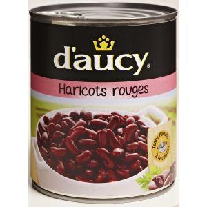 d'aucy Haricots Rouges 800 g - Lot de 4
