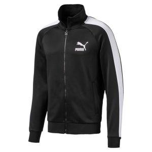 Puma Blouson de survêtement Iconic T7 pour Homme, Noir, Taille XXL