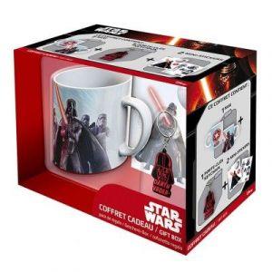 Abystyle Coffret cadeau Star Wars : mug, porte-clés et stickers Dark Vador