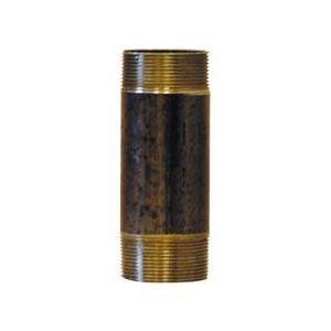 Afy 530012100 - Mamelon 530 tube soudé filetage conique longueur 100mm D12x17