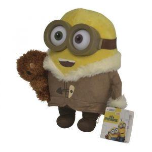 Simba Toys Peluche Bob avec Ourson Ice Age Les Minions 20 cm