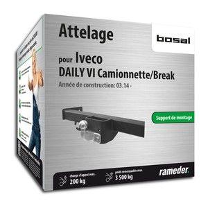 Bosal Attelage ''boule'' démontable avec outils 040-512