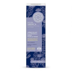 Natura Siberica Crème de nuit à la Rhodiola Rosea pour le visage - Le tube de 50ml